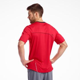 saucony Drafty Koszulka z krótkim rękawem Mężczyźni, saucony red
